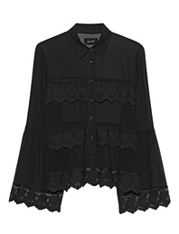 JADICTED Blouse Lace Black