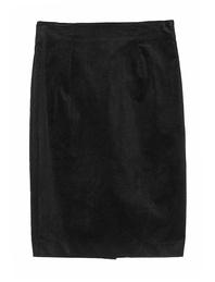 JADICTED Corduroy Skirt Black