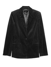 JADICTED Corduroy Blazer Black