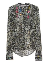 PREEN LINE Rosette Crepe Leopard