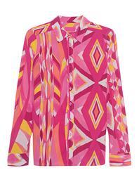 JADICTED Pattern Silk Pink Multicolor