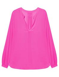 JADICTED V-Neck Silk Pink