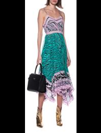JADICTED Lace Dress Zebra Patch Multicolor