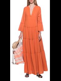 DEVOTION Long Dress Orange