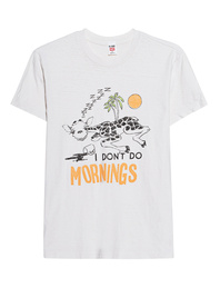 RE/DONE I Don't Do Mornings Off-White