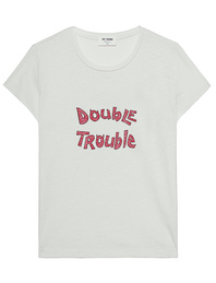 REDONE Slim Double Trouble Vintage White