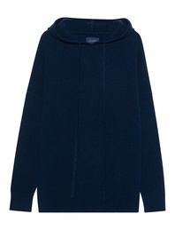 JADICTED Hooded Cashmere Navy