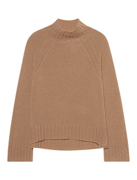 JADICTED Cashmere Stand Up Camel