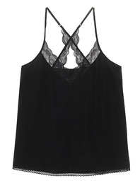 JADICTED Lace Silk Black