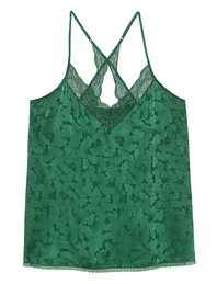 JADICTED Lace Silk Green