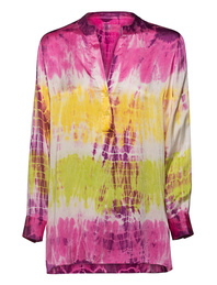 JADICTED Tie Dye Silk Multicolor