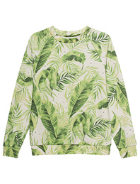 JADICTED Crew Neck Palm Green