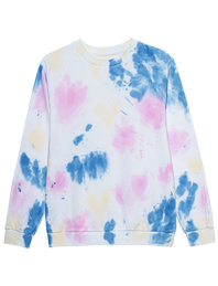 JADICTED Crew Neck Tie Dye Multicolor
