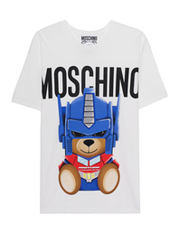 MOSCHINO Transformers Teddy Oversize White