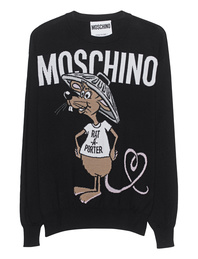 MOSCHINO Capsule Rat Black Shirt