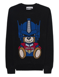 MOSCHINO Transformers Teddy Black