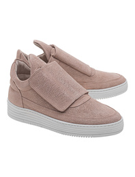 Filling Pieces Low Top Single Velcro Pink