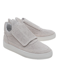 Filling Pieces Low Top Single Velcro Grey