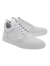 Filling Pieces Low Top Diagonal White