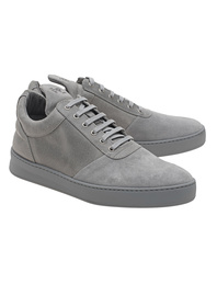 Filling Pieces Low Top Diagonal Grey
