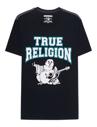 TRUE RELIGION Flock Buddha Black