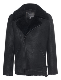 Goosecraft Lambskin Oversize Black
