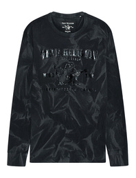 TRUE RELIGION Crew Neck Seasonal Black