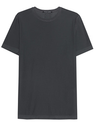 HANNES ROETHER Basic Shirt Shady Grey