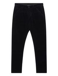 HANNES ROETHER Cord Long Black