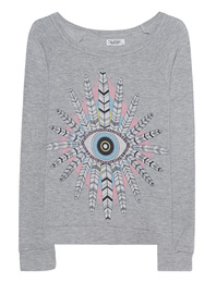LAUREN MOSHI Brenna Feather Heather Grey