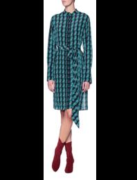 DVF Diane von Furstenberg New Shirt Multicolor