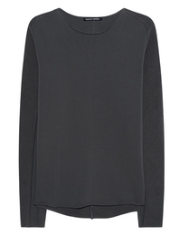 HANNES ROETHER Longsleeve Mixed Anthracite