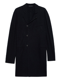 HANNES ROETHER Tor Wool Button Navy