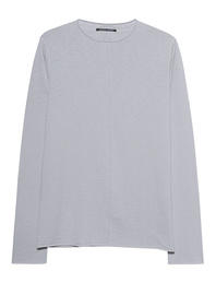 HANNES ROETHER Knit Breton Light Grey
