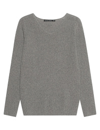 HANNES ROETHER Vneck Light Grey