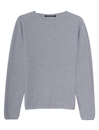 HANNES ROETHER Cotton Knit Grey