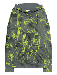 Deux Visions Paris Wording Oversize Neon Yellow