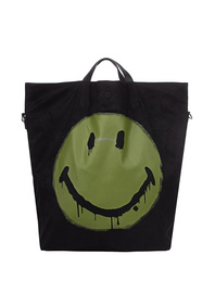 STEFFEN SCHRAUT CAPSULE COLLECTION SMILEY Shopper Black