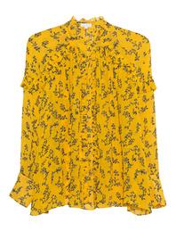 LALA BERLIN Lulu Flowerspray Mango Yellow