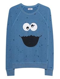 LAUREN MOSHI Darby Vintage cookie Monster Blue