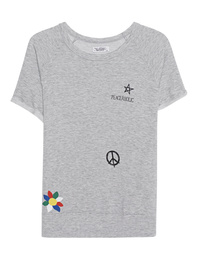 LAUREN MOSHI Ava Peaceaholic Flower Grey