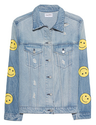 LAUREN MOSHI Spencer Boyfriend Smiley Blue