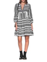 DEVOTION Dress Black White