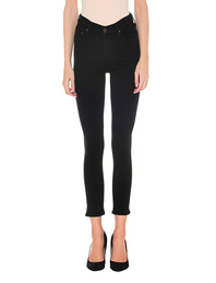 CITIZENS OF HUMANITY Rocket High Rise Skinny Cropped Black