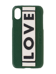 IPHORIA iPhone X/Xs Veggie Leather Love Green