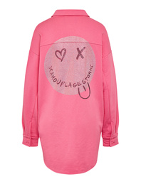 CAMOUFLAGE COUTURE Smiley Crystal Pink