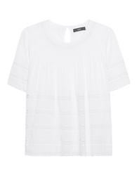 STEFFEN SCHRAUT Stripe Lace White