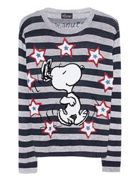 PRINCESS GOES HOLLYWOOD Snoopy Stripes Grey