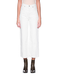 CITIZENS OF HUMANITY Sasha High Wide Leg Off-White