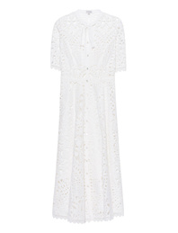 TEMPERLEY LONDON Berry Lace Neck Tie White